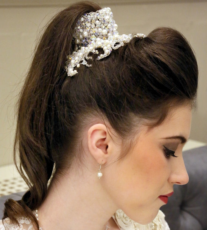 Sarika wedding headpiece